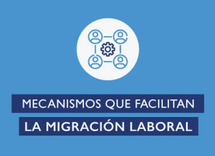 Mecanismos que facilitan la migración laboral